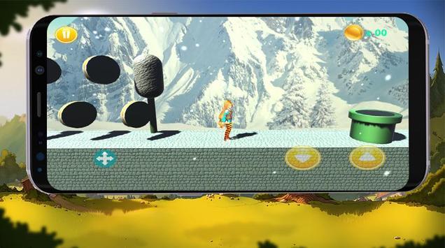 Super girl - Super World - adventure run 3D apk screenshot