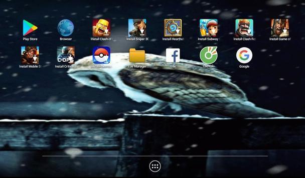 Snow Falling Live Wallpaper screenshot 2