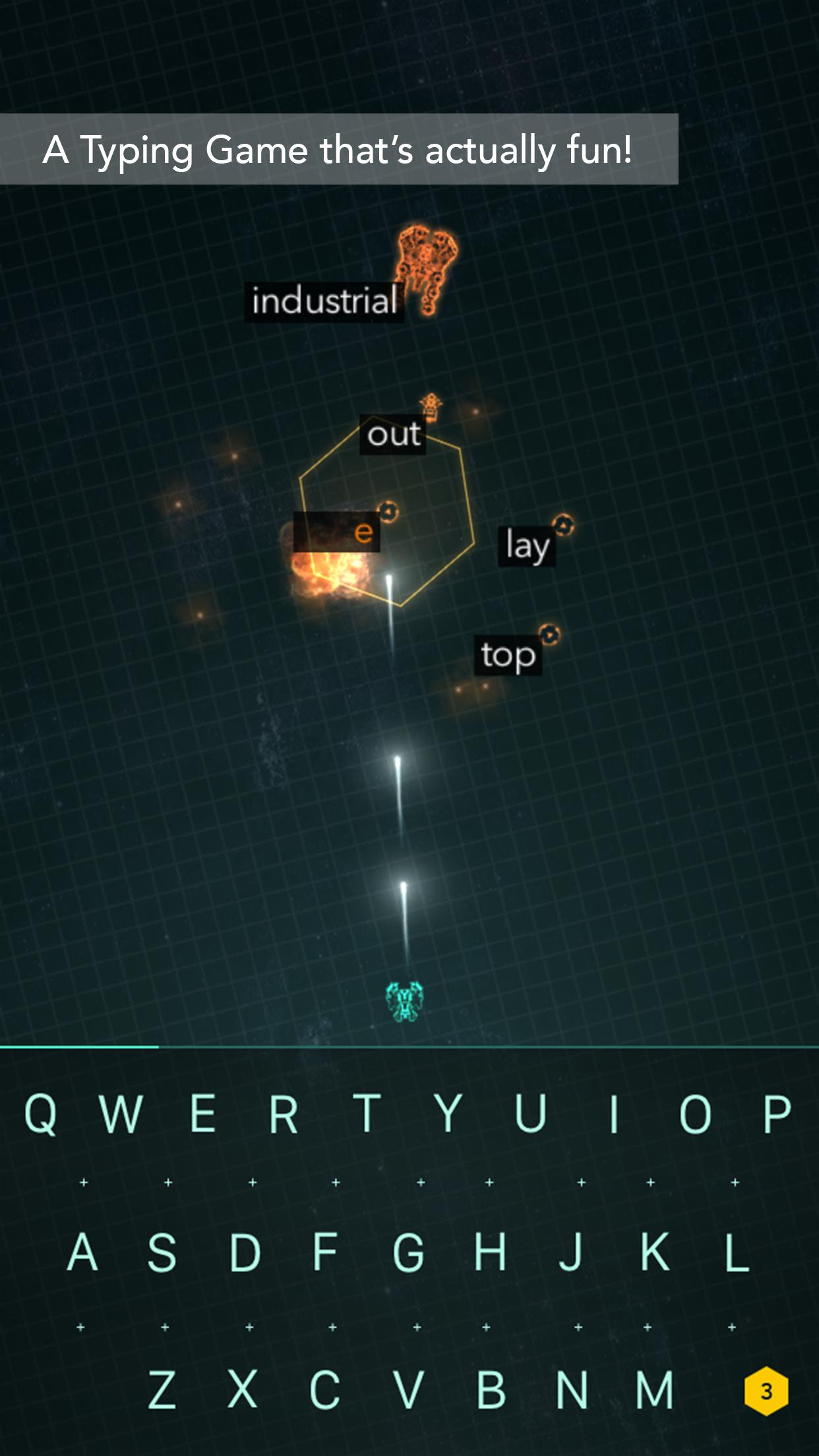 ZType Space Typing & Spelling for Android - APK Download