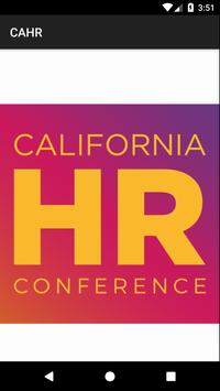 California HR Conference poster