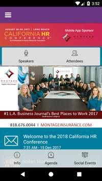 California HR Conference apk screenshot