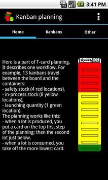 Kanban planning poster
