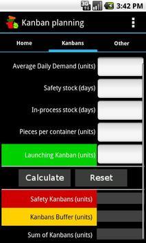 Kanban planning screenshot 1