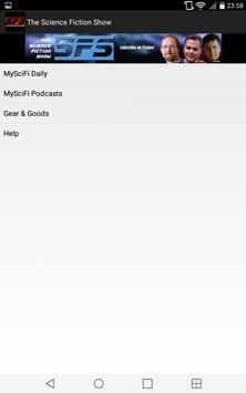 Science Fiction Show App screenshot 3