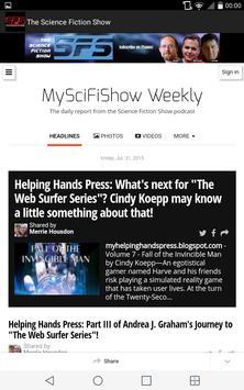 Science Fiction Show App screenshot 4