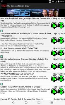Science Fiction Show App screenshot 5