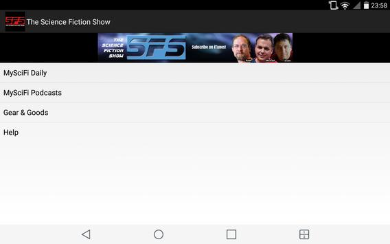 Science Fiction Show App screenshot 7