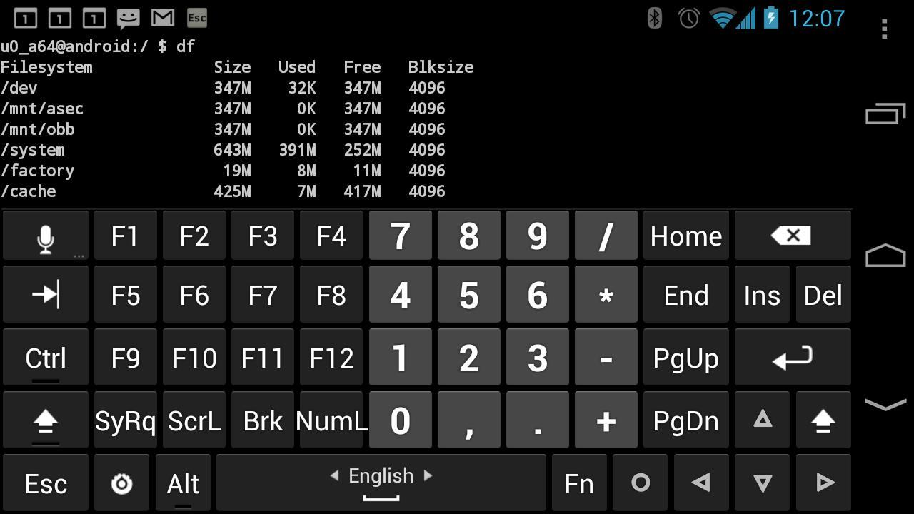 Hacker's Keyboard for Android - APK Download