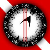 Dive Compass Trainer FREE icon