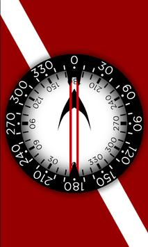 Dive Compass Trainer FREE apk screenshot