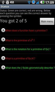 Math Quiz High School Free screenshot 2