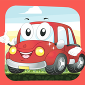 Cartoon Vehicles For Kids icon