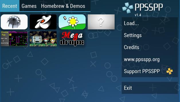 PPSSPP - PSP emulator Cartaz