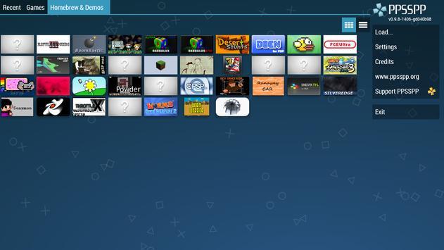 PPSSPP - PSP emulator apk imagem de tela