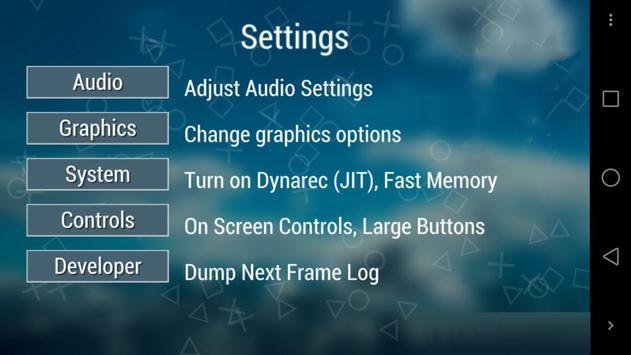 PPSSPP Gold Emulator Real Free screenshot 1
