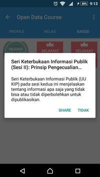 Open Data Course apk screenshot