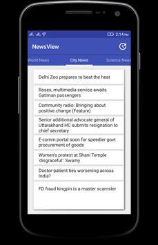 News View screenshot 2