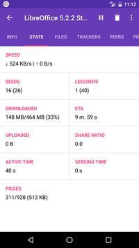 LibreTorrent apk screenshot