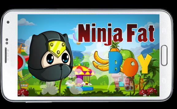 Ninja Fat Boy Game poster