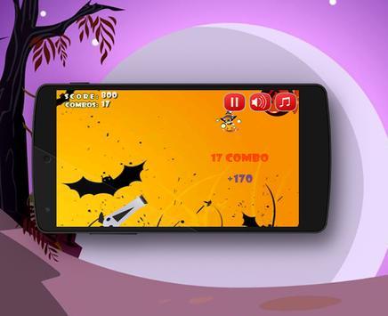 Halloween Cat Run! apk screenshot