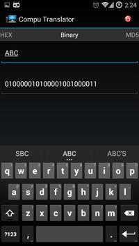 Compu Translator screenshot 1