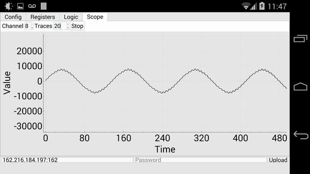 RMSCS Configuration Software screenshot 1