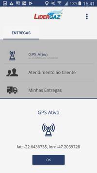 Lidergaz Entregas screenshot 1