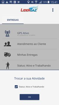 Lidergaz Entregas screenshot 2
