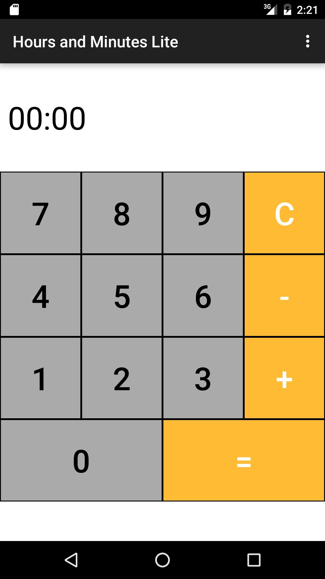 Hours Minutes Time Calculator for Android - APK Download