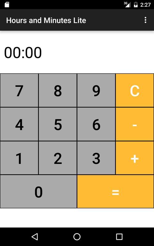 как вычислить часы и минуты на микрокулькуляторе