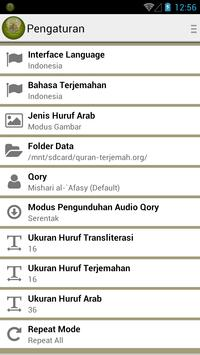 Quran Terjemah apk screenshot
