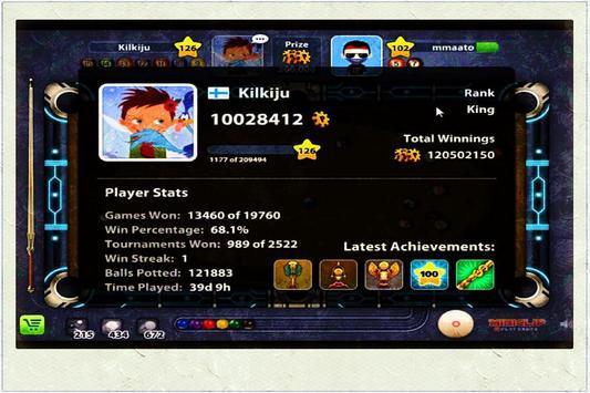 Utility 8 Guide Ball Pool screenshot 1
