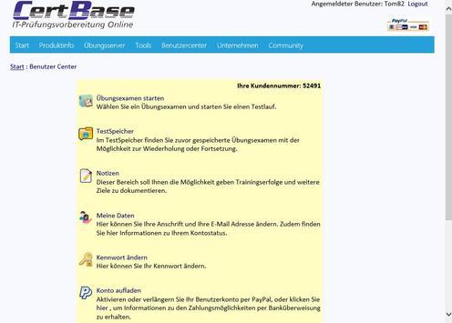 CertBase - IT-Prüfungshilfen apk screenshot