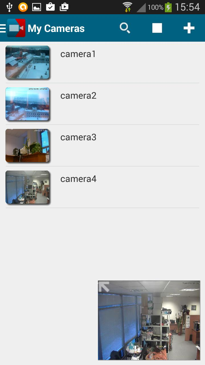 VXG RTSP Player - Free IP camera viewer for Android - APK Download