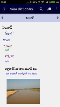 Sora Dictionary apk screenshot