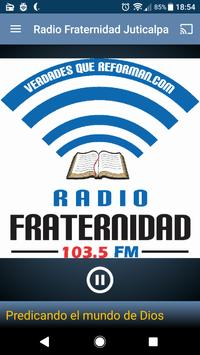 Radio Fraternidad Juticalpa poster