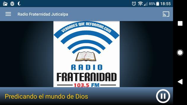 Radio Fraternidad Juticalpa screenshot 3