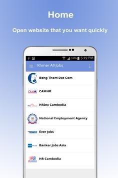 Khmer All Jobs - Cambodia Job poster