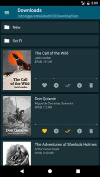 ReadEra – free ebook reader apk screenshot