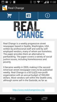 Real Change apk screenshot