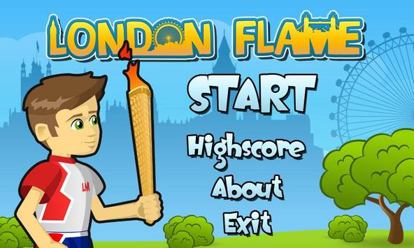 London Flame poster