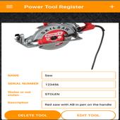 Powertool Register icon