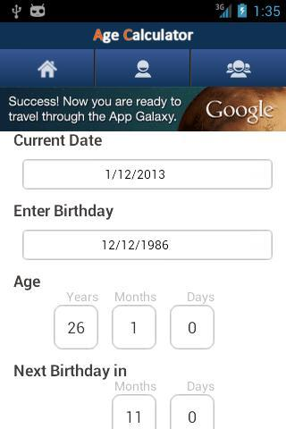 Age Calculator FB for Android - APK Download