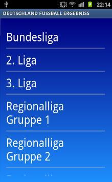 Deutschland Fussball Ergebniss poster