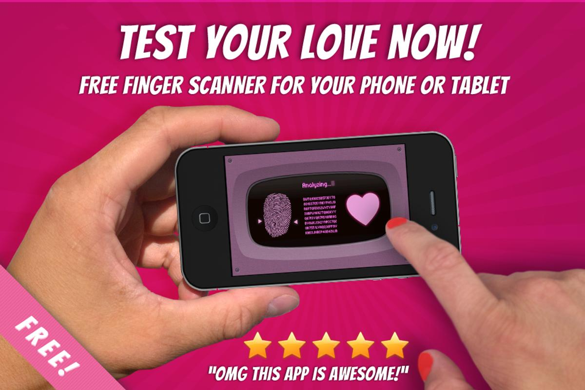free love finger scanner prank apk download free entertainment app
