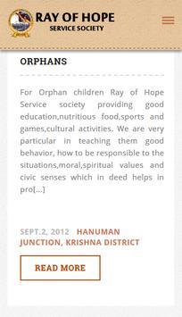 ROHSS - RAY OF HOPE SERVICE SOCIETY apk screenshot