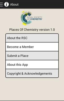 Places of Chemistry apk screenshot