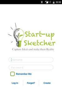 Startup Sketcher poster