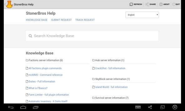 StonerBros Help apk screenshot