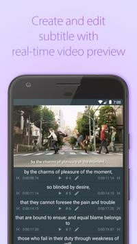 Subcake - Add Subtitle to Video, Subtitle Maker poster
